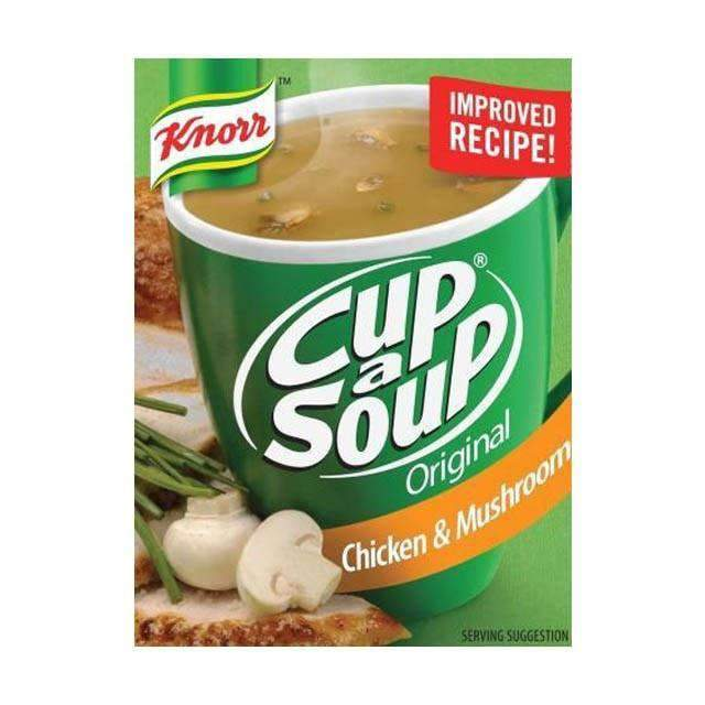 Innodis - Knorr Pantry Knorr, Cup A Soup Chicken and Mushroom 4x20g