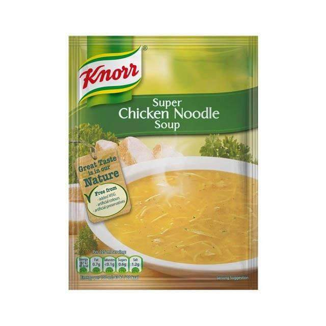 Innodis - Knorr Pantry Knorr, Packet Soup Chicken Noodle 52g