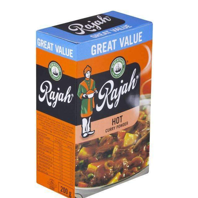 Innodis - Rajah Pantry Rajah, Curry Powder Hot 200g