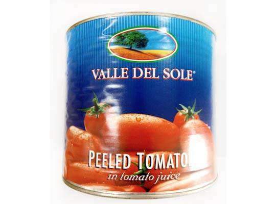 Innodis - Valle Del Sole Pantry Valle Del Sole, whole peeled tomatoes 2.55kg