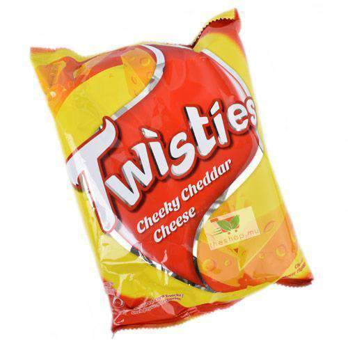Twisties, Cheeky Cheddar Cheese, 65g