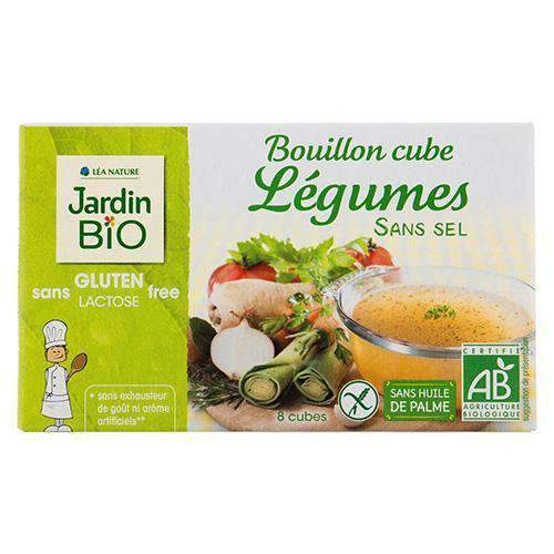 IPBD - Jardin Bio Pantry Jardin Bio, Org. Vegetable Stock, no Salt 72g, 8p