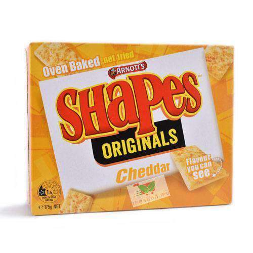 Arnott's, Shapes Cheddar Biscuits, 175g