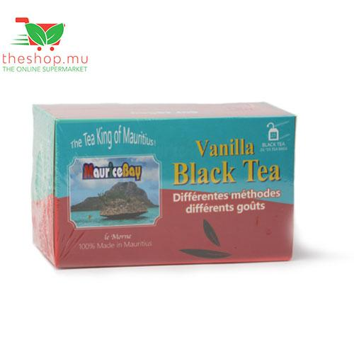 Mauristea Investment Co Pantry MauriceBay, Black Tea Le Morne Vanilla, 50g