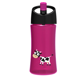 Meem - Carl Oscar Household Supplies Carl Oscar, Pink Water Bottle 0.35L