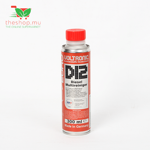 Voltronic, D12 Diesel Stop Smoke & System Cleaner, 300ml