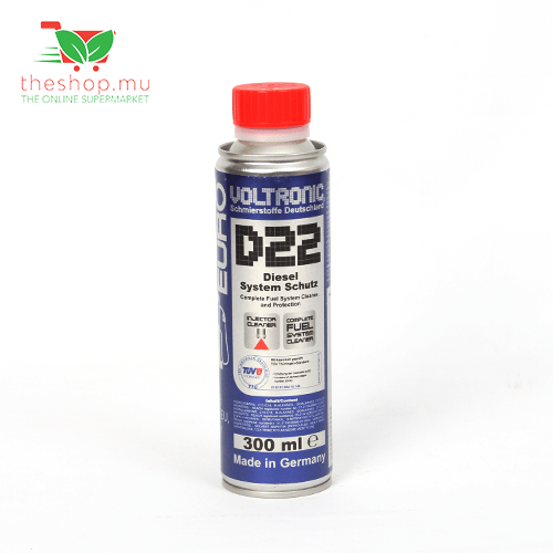 Voltronic, D22 Diesel Systrem Cleaner & Cetane Improver, 300ml