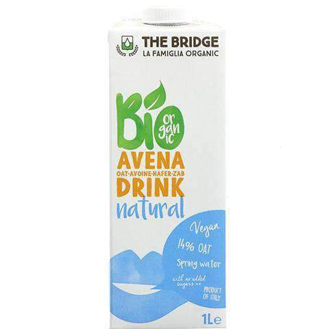 Neofoods - The Bridge Milk & Eggs The Bridge, Organic Oat Drink, 1L