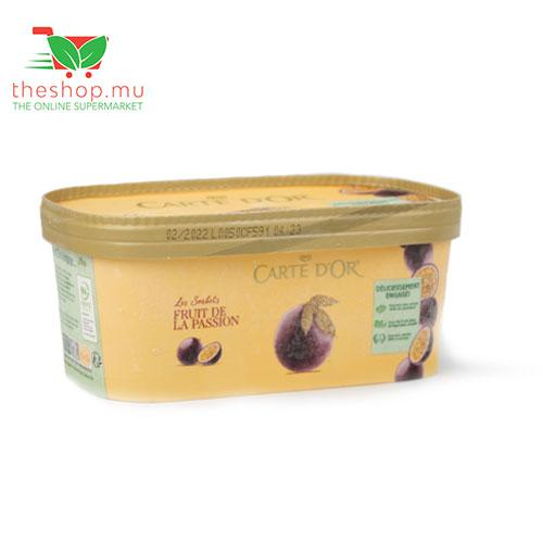 Buy Carte D Or Sorbet Passion Fruit 1l In Mauritius Theshop Mu