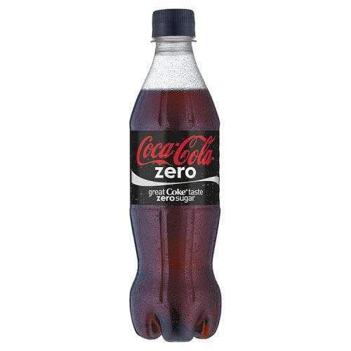 Coca Cola, Zero, 500ml, Pack of 12