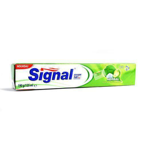 PNL - Signal Beauty & Personal Care Signal, toothpaste, Herbal, 125ML
