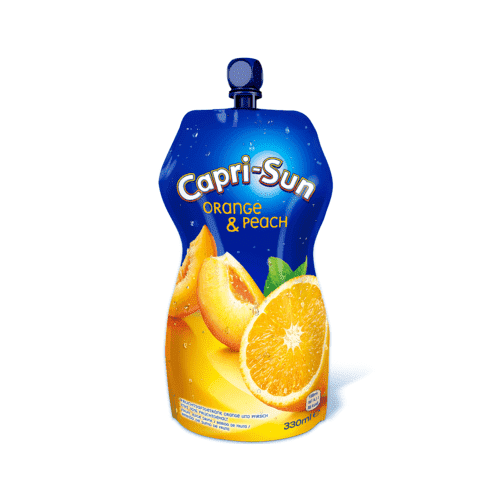 Capri-Sonne, Orange & Peach Juice 330ml