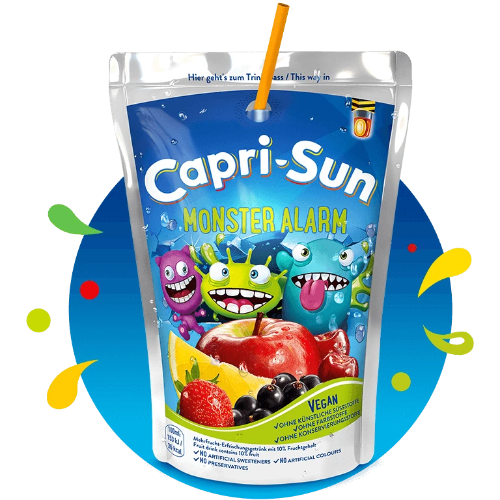 Capri-Sun, Monster Alarm Fruit Juice 200ml