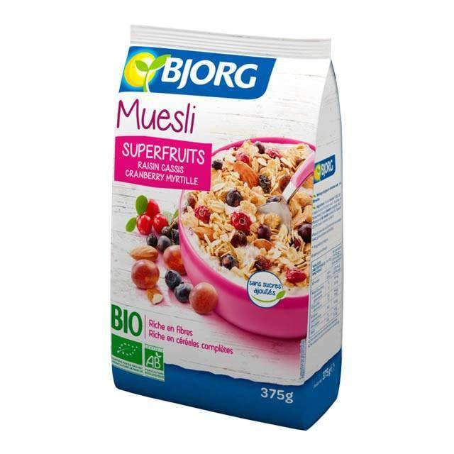 Bjorg Muesli Superfruits 375g - shop_bungsy