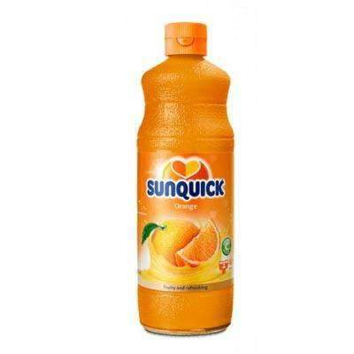 Scott & CO - Sunquick Beverages Sunquick, Orange 840ml