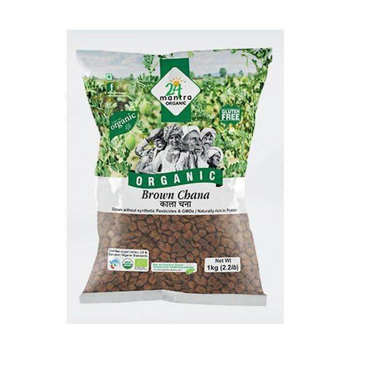 Organic Brown Chana Whole 500g - shop_bungsy