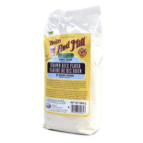 Shibani Trading - Bob's Red Mill Pantry Bob's Red Mill, Rice Flour Brown 680g, GF & Org.