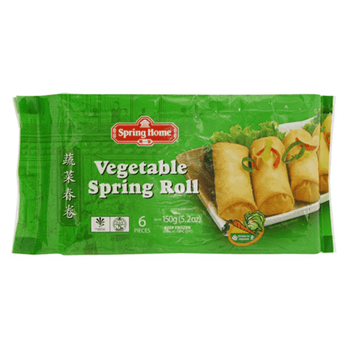 Spring Home, Vegetable Spring Roll, 150g