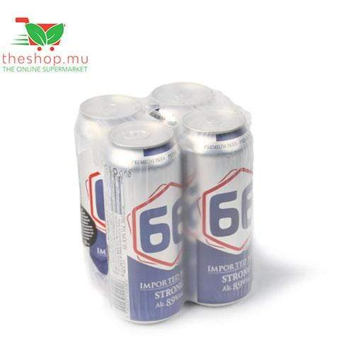 Sogerep (Mauritius) Ltd Acoholic & Alcohol Free Beverages 66, Strong Imported Beer 8.9%, 50cl