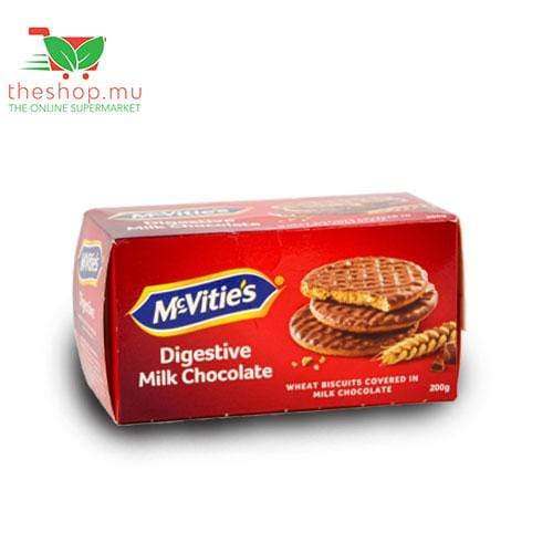 Sogerep (Mauritius) Ltd Pantry McVitie's, Digestive Milk Chocolate Biscuits, 200g
