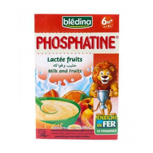 Bledina, Phosphatine Milk & Fruits 200g