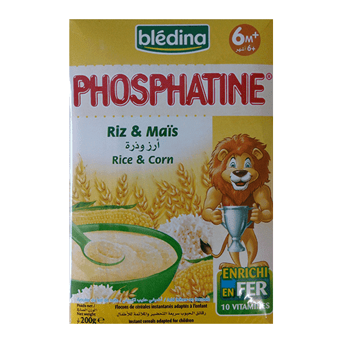 Tea Blenders - Bledina Baby Bledina, Phosphatine Rice And Corn 200g