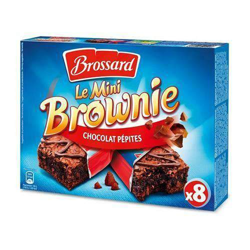 Tea Blenders - Brossard Pantry Brossard, Mini Brownie, Chocolat Pepites, 8 pcs