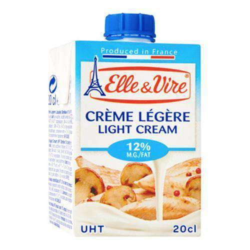 Tea Blenders - Elle & Vire Fresh Products Elle & Vire, Light Cream 200ml