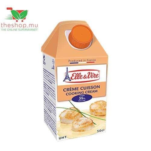 Tea Blenders Ltd Fresh Products Elle & Vire, Cooking Cream UHT, 50cl