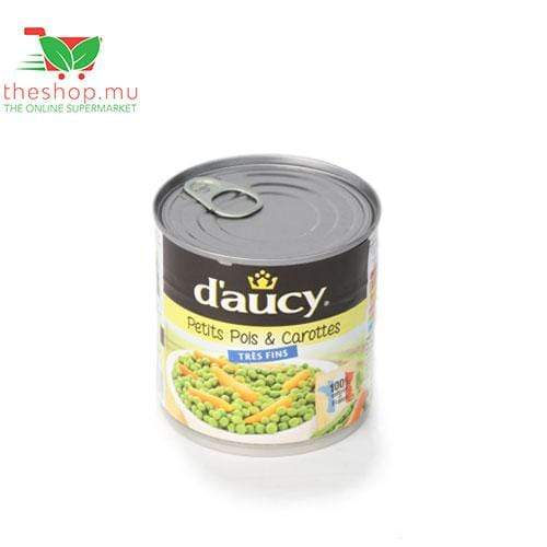 Tea Blenders Pantry D'aucy, Green Peas and Carrots TRES Fins, 400g