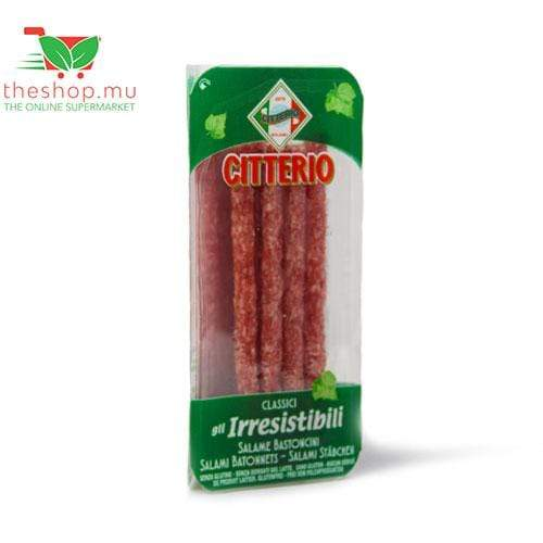TheShop.mu Fresh Products Citterio, Salame Bastoncini, 80g