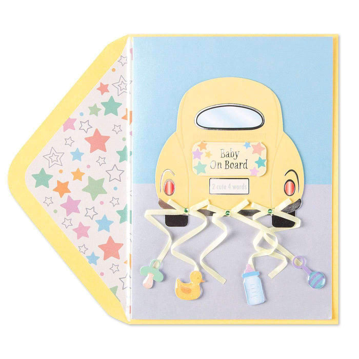 Unknown - Generic Product Flowers & Gifts Baby on Board Card