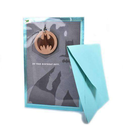 Unknown - Generic Product Flowers & Gifts Batman Birthday Card with Envelope