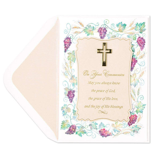 Communion Cartouche with Charm