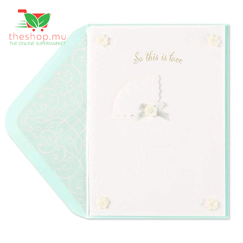 Embossed Bassinet Welcome Baby Card