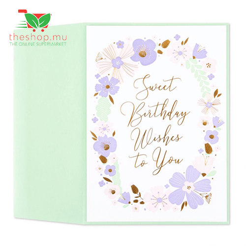 Unknown - Generic Product Flowers & Gifts Sweet Flower Wreath Birthday Card