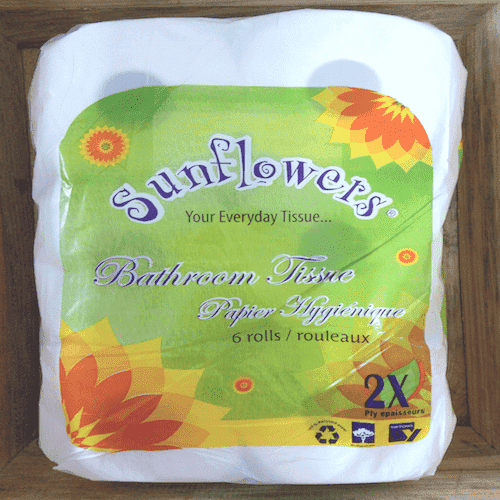 Yiptong & Sons - Sunflowers Household Supplies Sunflowers, Toilet Paper x 6 Rolls