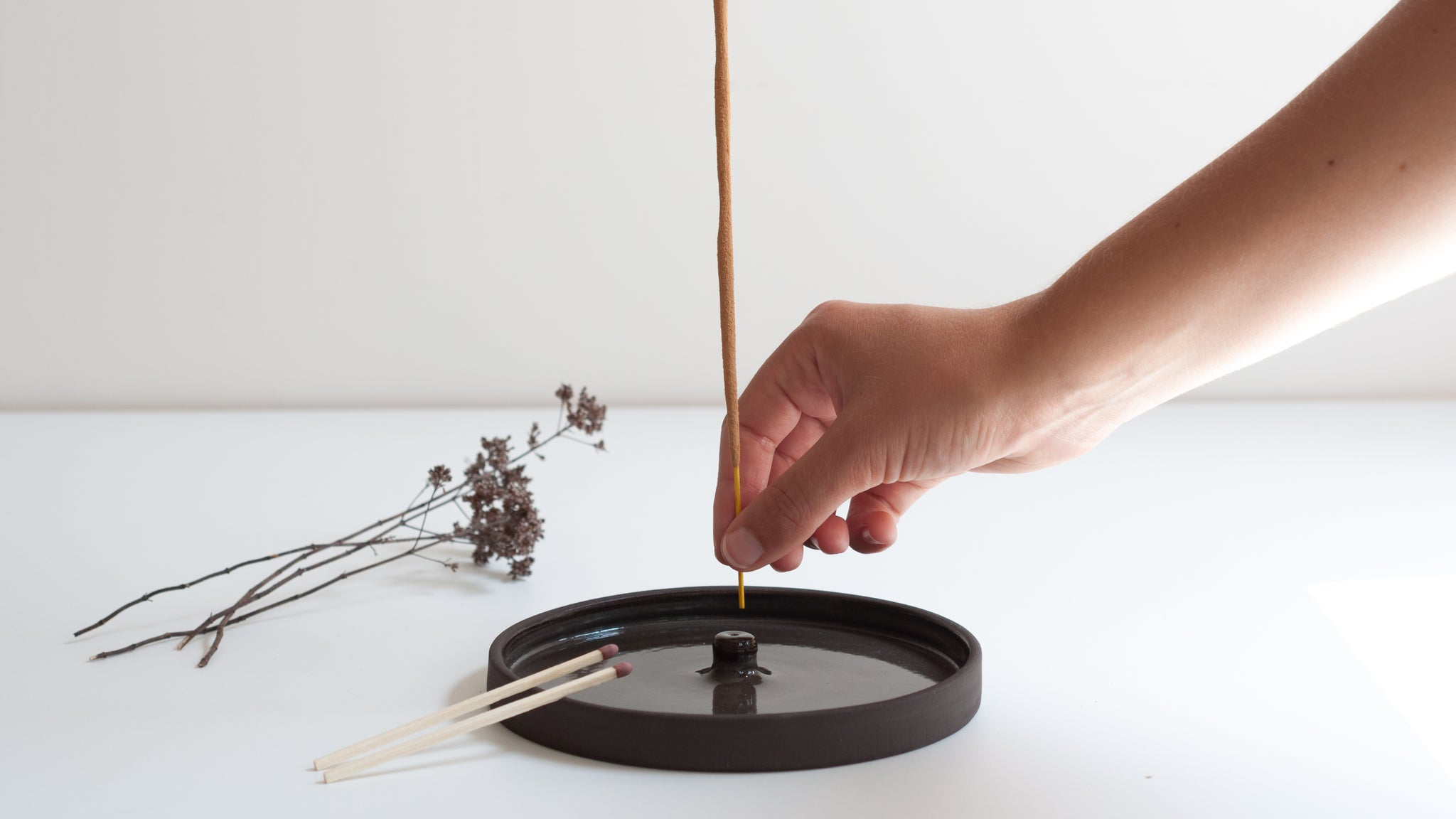 Incense Holder - Coal | DOR & TAN