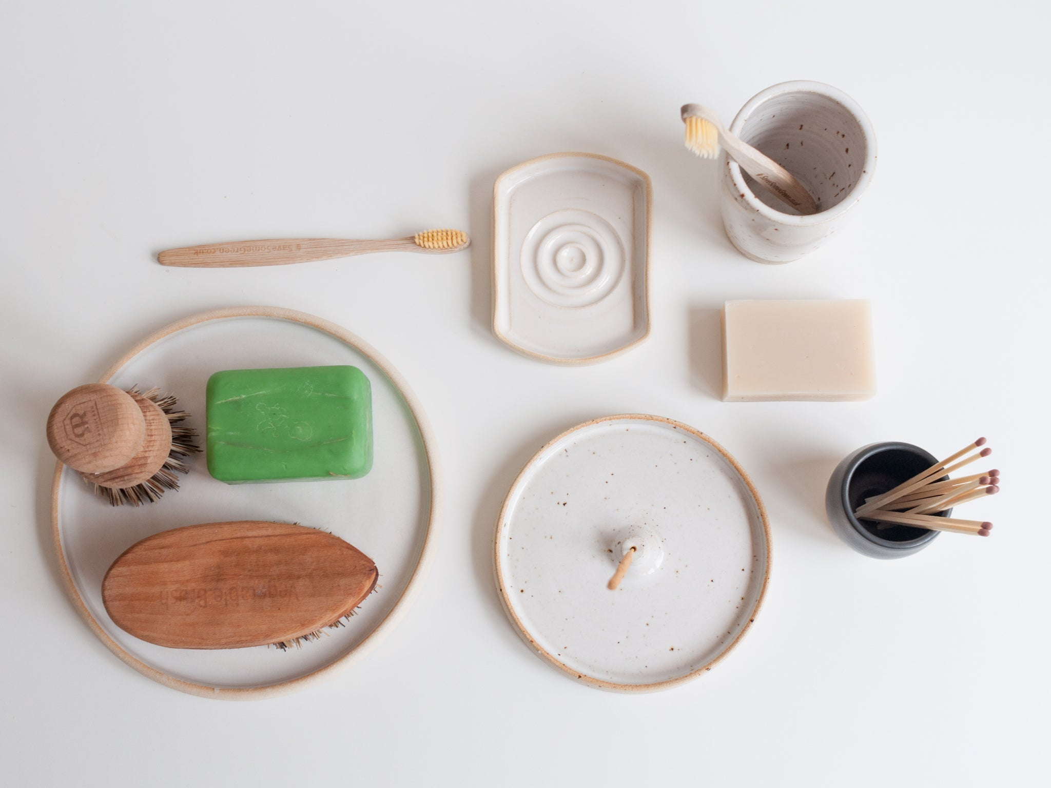 Dor & Tan sustainable wares top down