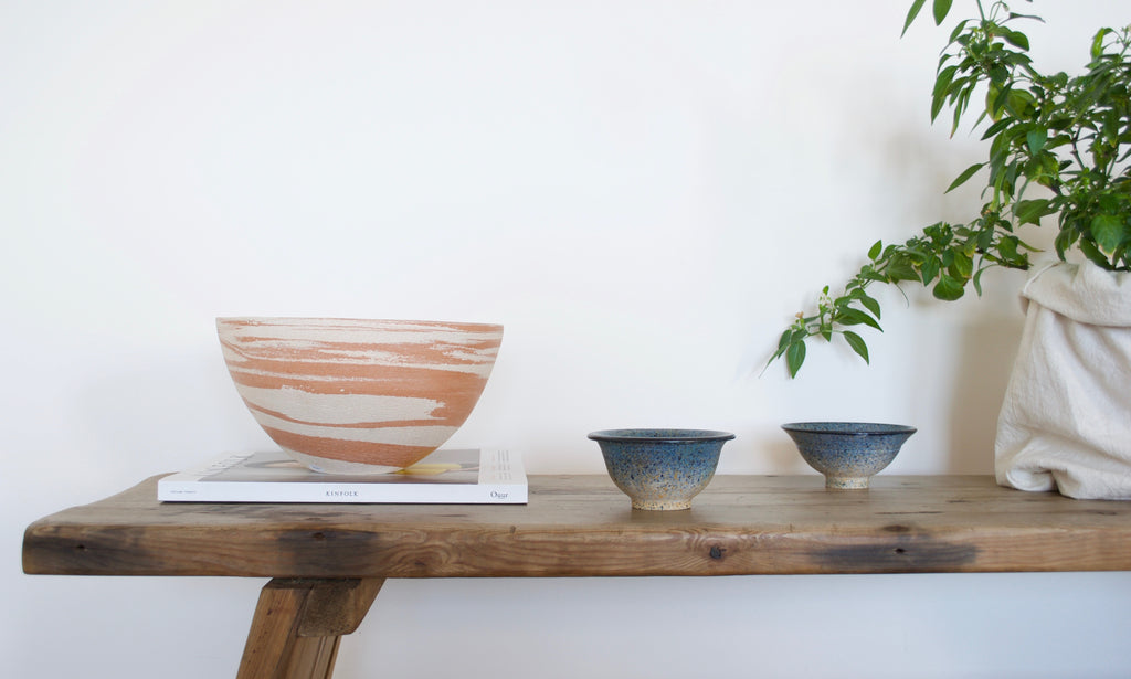 Dune Bowl and Noontide Spray bowls