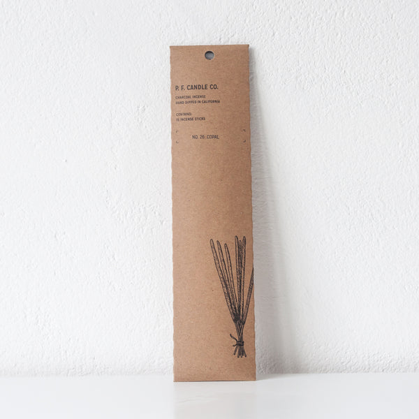 Black Fig Incense, Incense Sticks - DOR & TAN | Contemporary Handmade Tableware