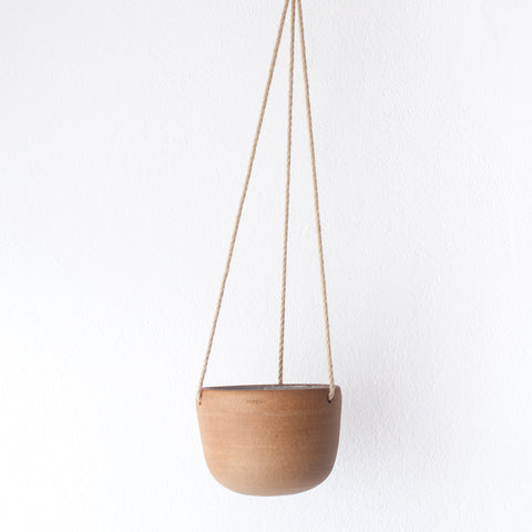Hanging Planter - Oat, Planter - DOR & TAN | Contemporary Handmade Tableware