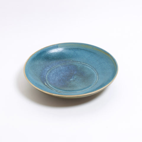 Meor Blue Shallow Bowl