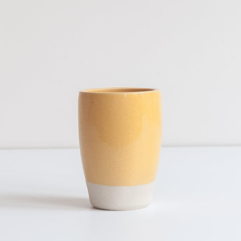 Tumbler - Gorse Yellow, Tumbler - DOR & TAN | Contemporary Handmade Tableware