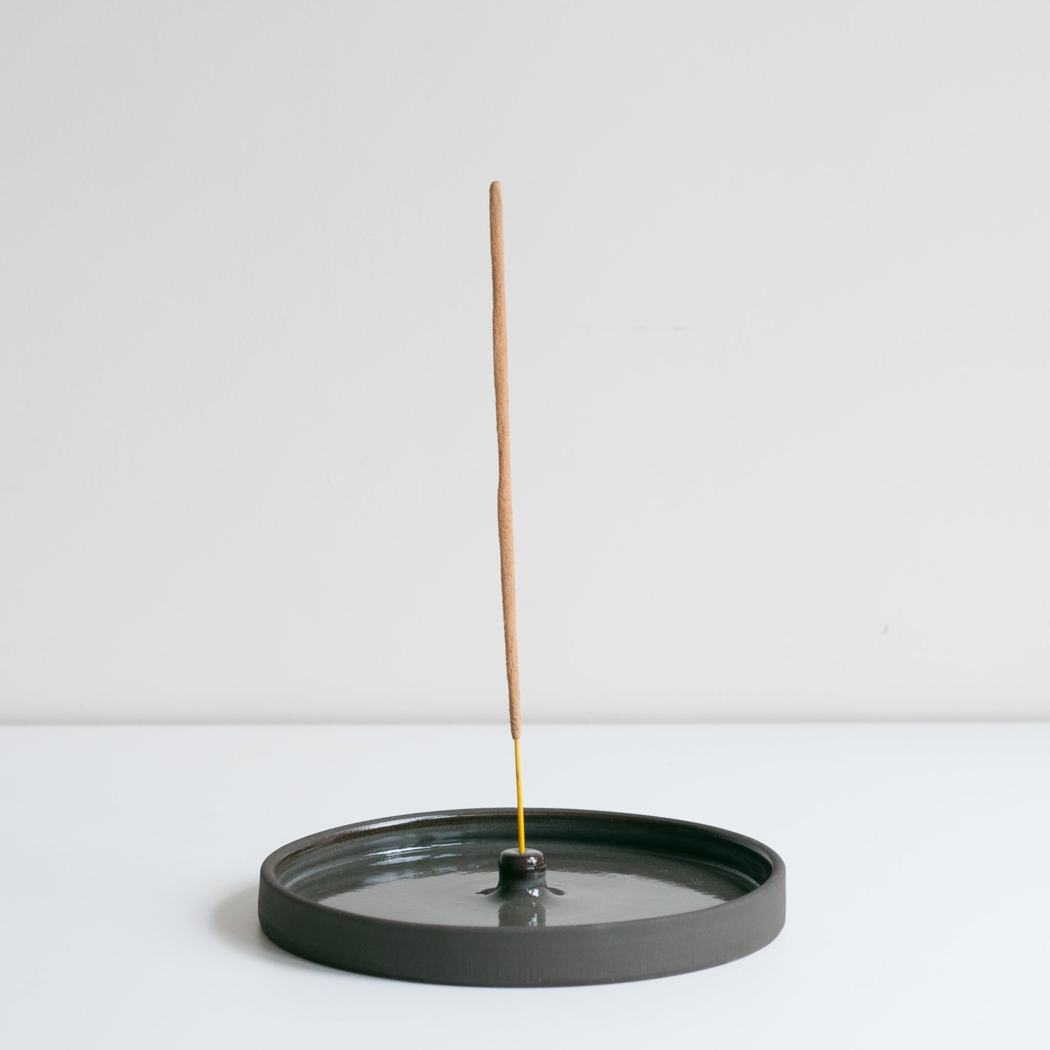 Incense Holder - Coal, Incense Holder - DOR & TAN | Contemporary Handmade Tableware