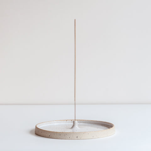 SECONDS Incense Holder - Speckled, Incense Holder - DOR & TAN | Contemporary Handmade Tableware
