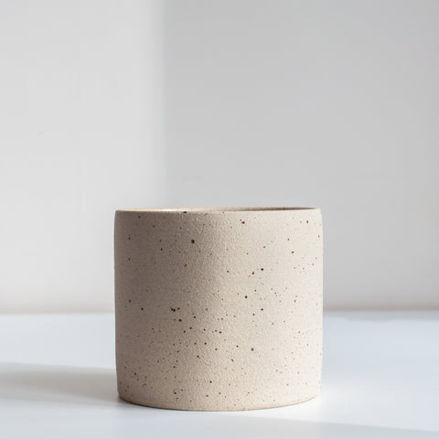 Medium Planter - Speckled, Planter - DOR & TAN | Contemporary Handmade Tableware