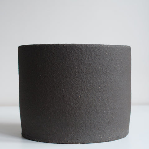 Large Planter - Coal, Planter - DOR & TAN | Contemporary Handmade Tableware