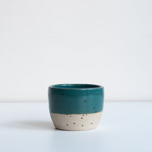 Tea Bowl - Marran Green & Speckle, Tea Bowl - DOR & TAN | Contemporary Handmade Tableware