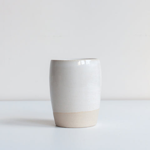 Tumbler - White, Tumbler - DOR & TAN | Contemporary Handmade Tableware